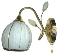 JUPITER LIGHTING Бра MH 26205/1 золото-1*60W E27 230V
